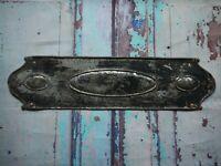 FP138 Reclaimed Salvaged Old Original Door Finger Plate (70 x 270mm)