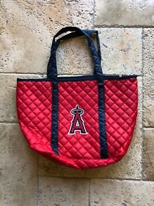 ANAHEIM ANGELS QUILTED TOTE BAG