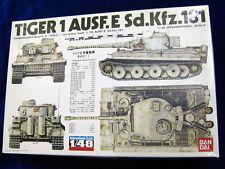 Bandai 1/48 TIGER I Ausf.E Sd.Kfz.181 55603