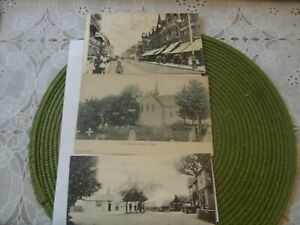 LOT OF 3 OLD POST CARDS SOUTHEND-ON-SEA /CANVEY ISLAND