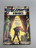 """DC Action Comics Superman No. 375 April 1969 """"The Big Forget!"""""""