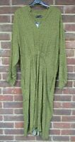 Marks & Spencer M&S Collection Mix Green Dress Size UK 18 BNWT [1871]