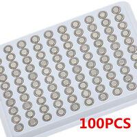 100PCS 1.55V SR626SW AG4 377 LR626 Alkaline Button Battery Watch Batteries New