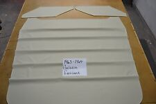 1963 63 1964 64 FORD GALAXIE FASTBACK OFF WHITE HEADLINER USA MADE TOP QUALITY