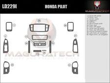 Fits Honda Pilot 2003-2004 With Navigation Basic Wood Dash Trim Kit