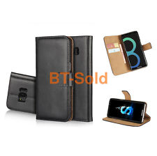 Luxury Genuine Real Leather Flip Wallet Cover Stand For Huawei Mobile Phone Case