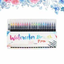 20 Colors Premium Painting Soft Brush Pen Set Watercolor Markers Pen Calligraphy