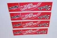 Vintage 1982 Michigan Detroit News Super Bowl Bumper Sticker Stroh's Beer