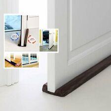 Twin Door Doorstop Decor Draft Dodger Guard Stopper Energy Saving Protector