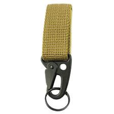 2 x Molle Klettverschluss Karabiner Modular Klett Tactiical Schlüsselhalter
