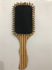 Bamboo Wood Hair Paddle Brush Keratin Care Massage Wood Massage Brush
