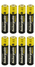 8 x LLOYTRON 550 mAh AAA PRE CHARGED RECHARGEABLE Ni-MH BATTERIES
