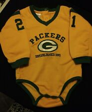 Green Bay Packers NFL One Piece Outfit Size Child 18 Months #21 Embroidered