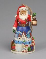 Heartwood Creek Santa with Train Hanging Ornament by Jim Shore   23300