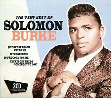 2 CDs Solomon Burke - The Very Best Of (Made in EU)