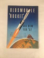 Oldsmobile Rocket 1952 Sales Booklet Brochure 12 Pages