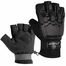 Exalt Hard Shell Gloves Black - Small / Medium - Paintball