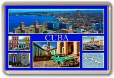 FRIDGE MAGNET - CUBA - Large - TOURIST