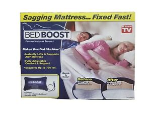 Bed Boost Inflatable Support for Sagging Mattresses As Seen On TV factory sealed