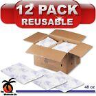 12 Pack - Nordic Ice Reusable 48 oz Refrigerant Gel Freezer Travel Cold Pack