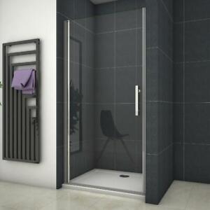 Frameless Pivot Shower Door Enclosure 700/760/800/900/1000mm Glass Screen