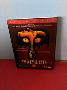 Two Evil Eyes Blue Underground Limited Edition Blu-ray Region A