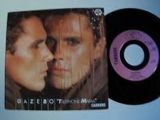 """GAZEBO: Telephone Mama / Strategy 7"""" 45T 1984 italo-disco BABY CARRERE 13618"""