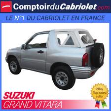 Capote 3 parties 4x4 Suzuki Grand Vitara cabriolet en vinyle O.E.M