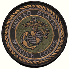 Vereinigte Staaten Marine Corps Usmc Gedämpft S Bestickt Patch