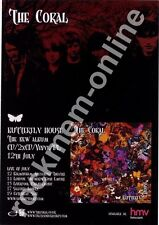 Coral The Butterfly House LP Tour Advert