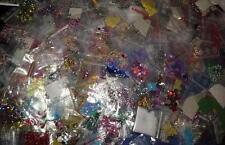 25 x Nail-Art Paket Strass°Glitzer°Fäden°Piercings°Sticker°Perlen°Fimo etc. MIX