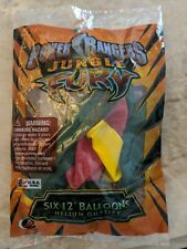 Power Rangers Jungle Fury 6 Pack 12in Latex Balloons Helium Quality asst colors