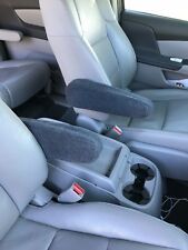 Auto Armrest Covers For Cars, Trucks, Vans & Suv's Medium Pair Usa Made Dk Gray
