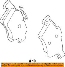 FORD OEM 12-16 Focus Brake-Rear Pads CV6Z2200A