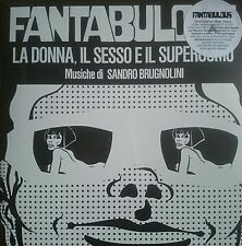 "Sandro Brugnolini – Fantabulous LP & 7"" Four Flies Gepy Sergio Spina Psych Jazz"