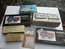 VINTAGE SLATERS AND PECO WAGON KITS ALL UNUSED AND BOXED