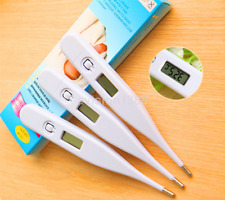 Electronic Digital Temperature mercury thermometer LCD Kids Baby Display New CA