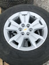Chevy Colorado Wheels And Tires Hollander 5672. Item is for set of 4.
