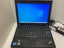 Lenovo Thinkpad X201 i5 M 540 3Gb Ram 300gb HDD No Batt W/dock/charger/key AS IS