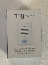 Ring Chime Doorbell Alarm - White refurbished excellent condition
