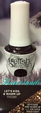 NEW Gelish 1110281 LET'S KISS & WARM UP deep wine gel polish THRILL OF THE CHILL