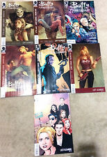 Buffy The Vampire Slayer Comic Lot 9 Season 8 Joss Whedon Alyson Hannigan BTVS