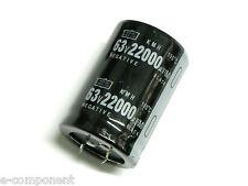 Condensatore Elettrolitico SNAP IN 22000uF 63V 105°C NIPPON CHEMICON