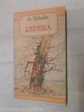 L EDERA G Deledda Angela Cerinotti Demetra Acquerelli 1995 libro romanzo storia