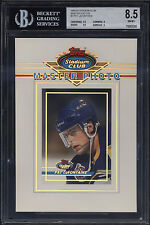 1993-94 Stadium Club Master Photo Pat LaFontaine NM-Mint BGS 9 Subs 9.5 Sabres