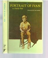 Portrait of Ivan by Paula Fox 1969 1st Ed. Rare Book! $