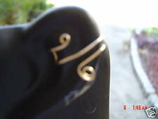 2 PAIR (4) OF GOLD & SILVER EAR CUFF EARRINGS--FREE S&H