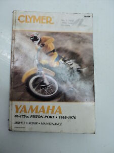 #046 Clymer / Yamaha 80 – 175cc Service / Repair Manual