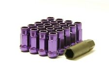 MUTEKI SR48 OPEN-END LUG NUT NUTS 12x1.25 FOR SUBARU/SCION FRS PURPLE