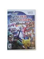Super Smash Bros Brawl Wii Game and Inserts, complete with manual